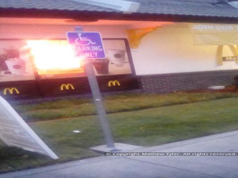 McDonalds violating the ADA on 20180824_062718